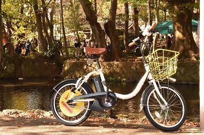 三島市レンタサイクル